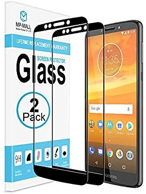 low priced 054df 156ed Amazon.com: [2-PACK] Moto E5 Plus/Moto E5 Supra Screen Protector, MP ...