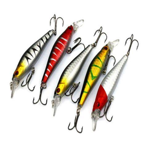 10 x 95mm Soft Silicone Tiddler Bait Fluke River Lake Sea Ocean*Fish Lure