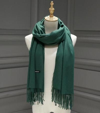 073dee628a8de Women solid color cashmere scarves with tassel lady spring autumn thin long  scarf high quality female shawl hot sale men scarf