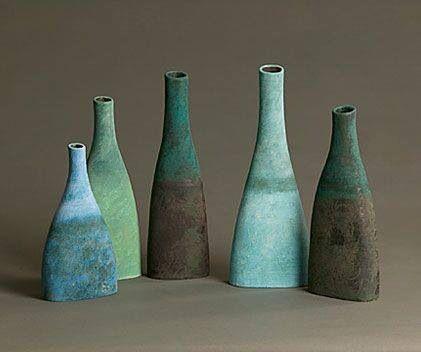 Gorjus Pottery Bottles Pottery Handbuilding Pottery Pots