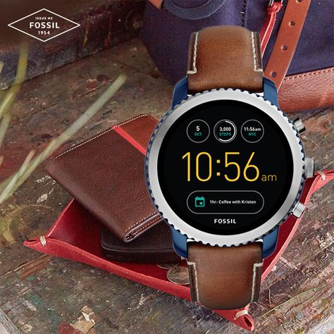 e920c01ab4be FOSSIL MENS SPORT Q EXPLORIST SMARTWATCH FTW4004 AT THE PRIME WATCHES
