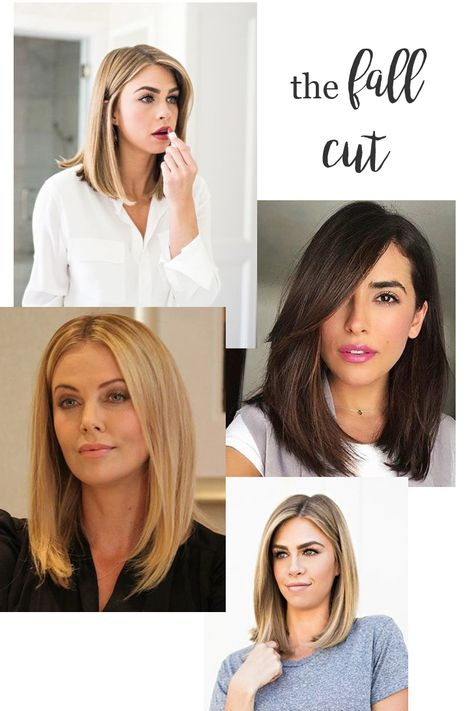 Do you get the itch for a change or makeover come fall? Particularly in the hair department? Sharing my inspiration for the fall cut. Fall Hair Cuts, Cut My Hair, Hair Cuts Lob, Cut Hair Diy, Lob Haircut Thick Hair, Haircut Diy, Medium Hair Styles, Curly Hair Styles, Hair Loss Women