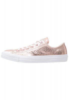 CHUCK TAYLOR ALL STAR OX - Baskets basses - rose gold/white ...