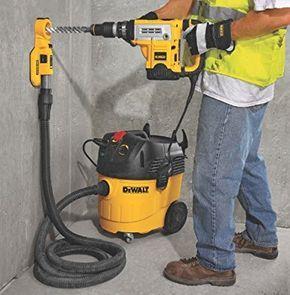 Dewalt Dwh050k Large Hammer Drilling Dust Extraction System Dewalt Power Tools Dewalt Dewalt Tools