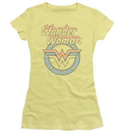 Wonder Woman WW75 STARBURST PORTRAIT Women/'s T-Shirt All Sizes