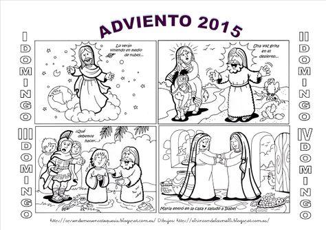 La Catequesis (El blog de Sandra): Recursos Catequesis Adviento 2015 Ciclo C