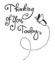 Stampendous rubber stamp thoughts prayers quotes pinterest butterfly thinking of you rubber stamp m4hsunfo Choice Image