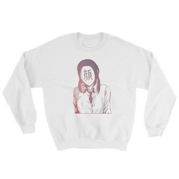 no face anime sweatshirt