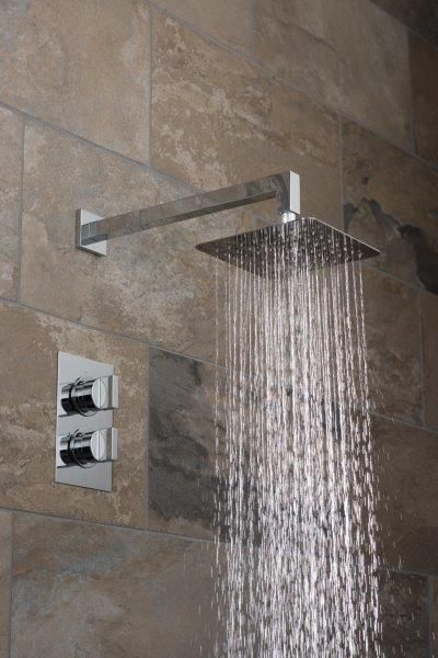 Showering Package Notion Square Concealed Thermostatic Shower