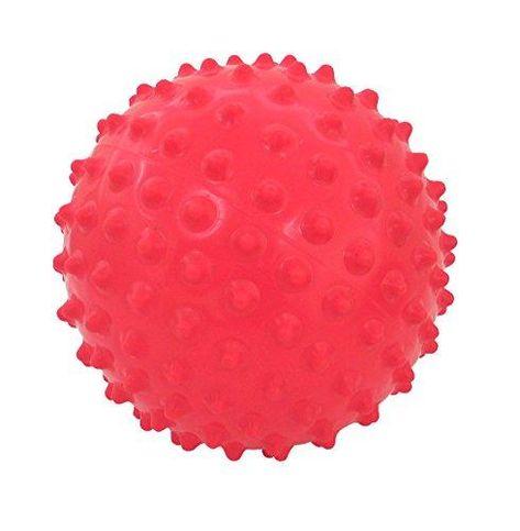 4 KNOBBY SPORTS BALLS 6 INCH novelty kick bounce ball BULK  inflatable toy NEW