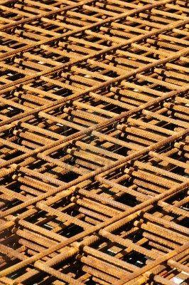 Rusty Neto De Acero Para Refuerzo De Hormigón Fotos, Retratos, Imágenes Y Fotografía De Archivo Libres De Derecho. Image 2819601.
