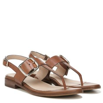 Saddle leather, Leather, T strap sandals