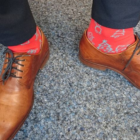 socks #Friday casual in #Christmas...