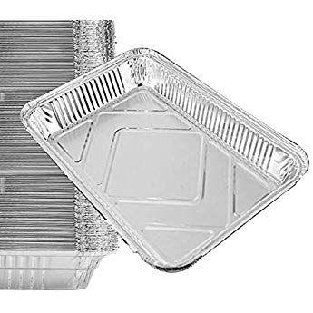 Amazon Com Daily Chef Aluminum Foil Steam Table Pans Half Size 36ct Kitchen Dining Aluminum Pans Pan Sizes Steam Tables