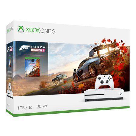 Microsoft Xbox One S 1tb Forza Horizon 4 Bundle White 234 00552 Xbox One S Xbox One S 1tb Xbox One Console