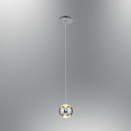 Lampa Wisząca Led Ozcan 5372 1a Chrom łazienka Salon