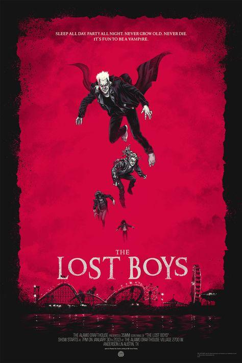The Lost Boys Movie Poster Filmes De Terror Posteres De Filmes Posters De Filmes