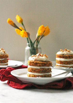 Mini Carrot Cakes | Recipe