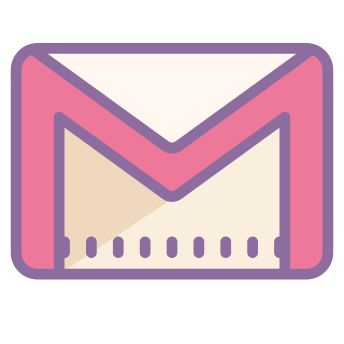 Gmail icons in Cute Color style for graphic design and user interfaces Iphone App Design, Iphone App Layout, Iphone Logo, Iphone Icon, Wallpaper App, Aesthetic Iphone Wallpaper, Wallpapers, Kawaii App, Vintage App
