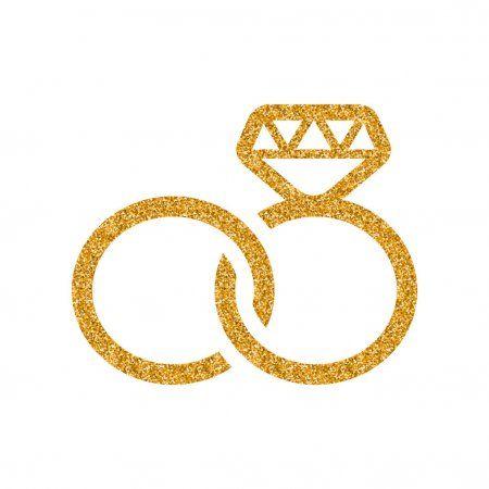 Wedding Rings Icon Isolated White Background Stock Vector Aff Icon Isolated Wedding Rings Ad Wedding Ring Icon Ring Icon Wedding Rings