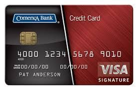 Comerica Visa Credit Card Is Issued By Comerica Bank It Is A Credit Card That C Small Business Credit Cards Visa Credit Visa Credit Card