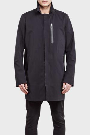 ISAORA Mac Coat Black