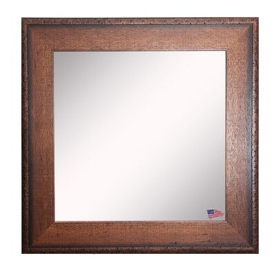 Square Timber Estate Wall Mirror Mirror Wall Framed Mirror Wall Wood Framed Mirror