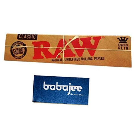 Imagica Raw Classic King Size Rolling Paper With Roach Pack Of 1 Amazon In Home Kitchen Rolling Paper Paper King Size