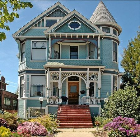 Victorian House Colors Ideas 45 Inspira Spaces Victorian House Colors Victorian Homes House Colors
