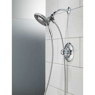 Delta Linden Dual Function Complete Shower System With In2ition