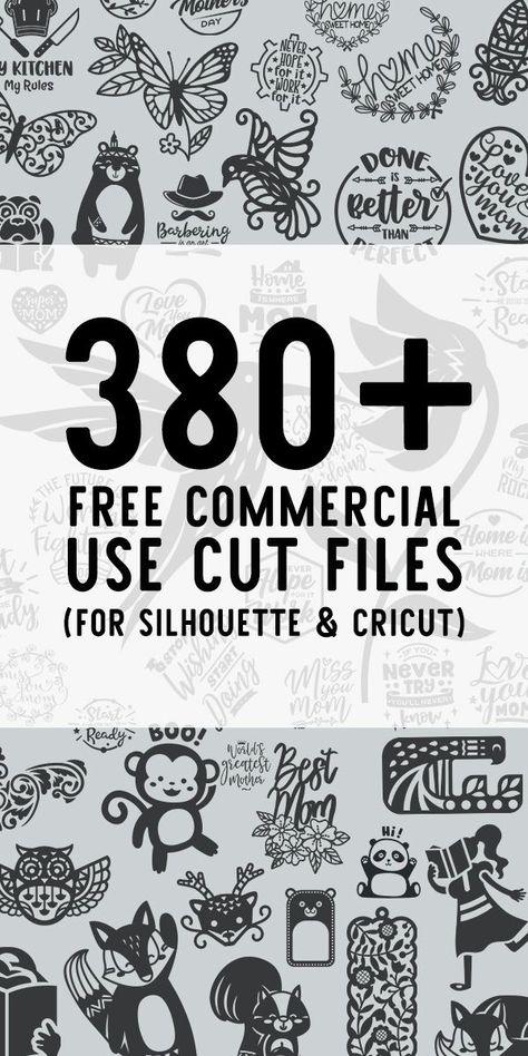 Free Commercial Cut Files - #Commercial #cut #files #free #machine