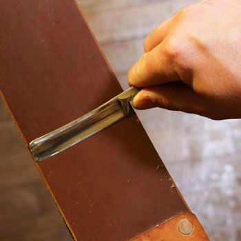 How To Sharpen A Straight Razor Best Stropping Honing Guide Straight Razor Shaving Razor Strop Straight Razor