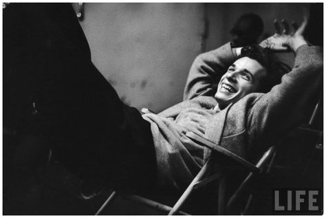 Glenn Gould laughing as engineers let him hear how his humming spoiled his recording of the Bach Goldberg Variations, he wouldnt let them re...