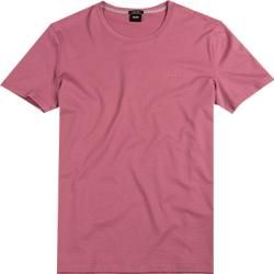 Hugo Boss Herren T Shirts Regular Fit Baumwolle Altrosa Hugo Boss In 2020 Baumwolle Shirts Und Hugo Boss