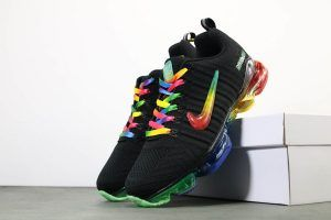 Buy Nike Air Max 2019 Flyknit Black Rainbow Trainers | Nike ...