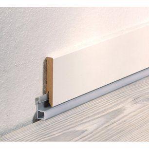 Rail Pvc Pour Plinthe A Led 16 5x42 1mm L 2 40m Plinthes Led Escalier Led