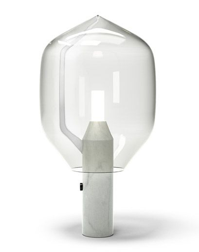 Ronan And Erwan Bouroullec's Lighthouse lamp for Venini and Established and Son