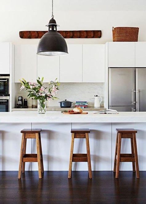 come arredare una cucina moderna bianca nel 2019 ...