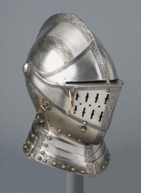 German Close Helmet 1560