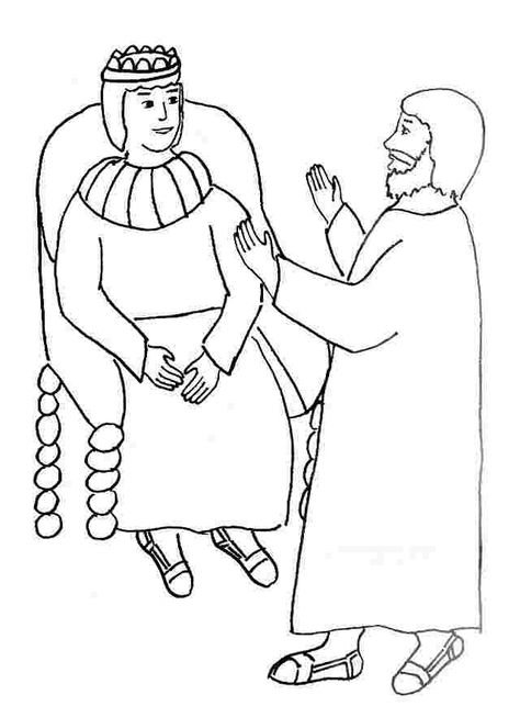 Bible Coloring Pages About Paul Paul And Barnabas Missionary