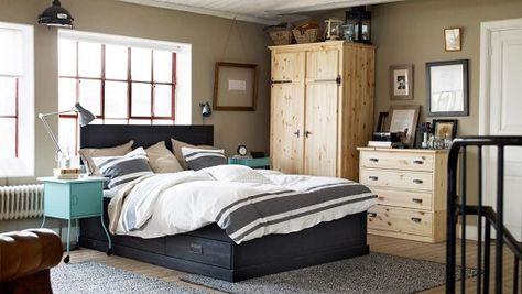 6 habitaciones Ikea rústicas bedroom Pinterest Bedrooms - ikea single k che