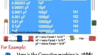 Capacitor Code How To Find The Value Of Capacitors Coding Capacitors Electronic Engineering