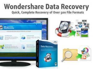 Wondershare Data Recovery 2018 Crack Patch + Serial Key Free