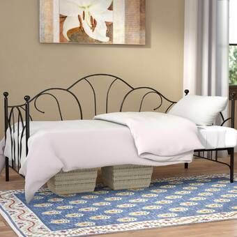 Armillac Twin Daybed Reviews Joss Main Metal Daybed Daybed With Trundle Twin Daybed With Trundle