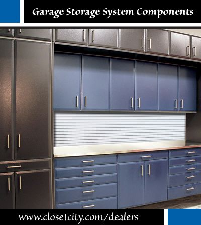 Garage Storage Components Available On A Retail Basis To