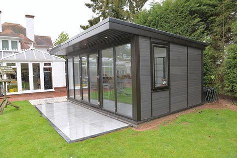 Composite Garden Rooms Manchester Garden Room Deck Building Cost Outdoor Buildings