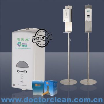Floor Stand Hand Sanitizer Dispenser 304 Stainless Steel Floor