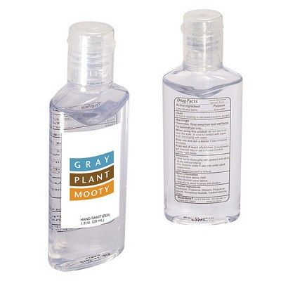 Hand Sanitizer In Oval 1 Oz Bottle Hand Sanitizer Bottle How