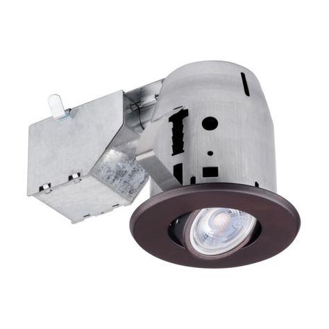 Globe Electric 90712 Recessed Lighting Kits Led Recessed Lighting Recessed Lighting Trim