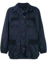 Comte Hooded Floral Lightweight Jacket, Dark Green